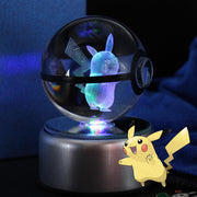 pokemon pikachu crystal pokeball
