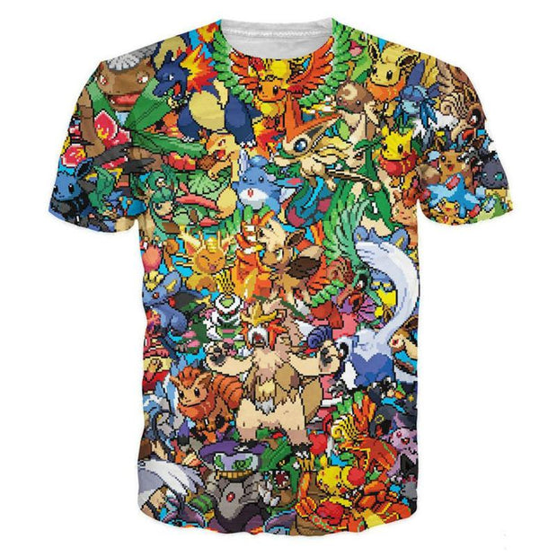 PokePixel Party TopS