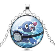 pokemon popplio glass pendant