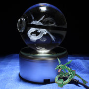 Rayquaza Pokemon Crystal Pokeball