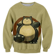 Snorlax The Plump Giant TopSweaterS