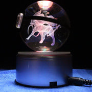 pokemon suicune crystal led pokeball