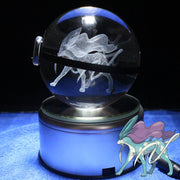 pokemon suicune crystal led pokeball without led base