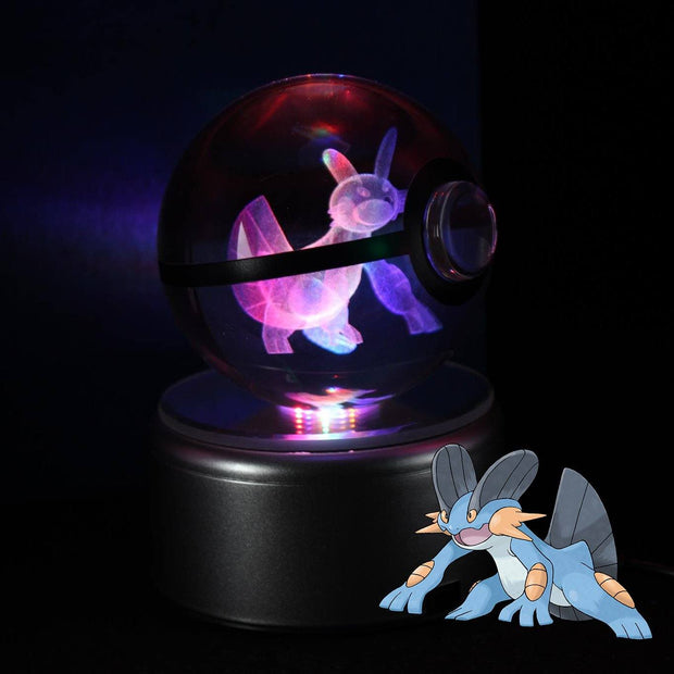 pokemon swampert crystal pokeball
