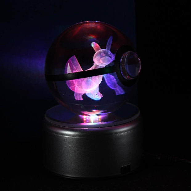 pokemon swampert crystal led pokeball
