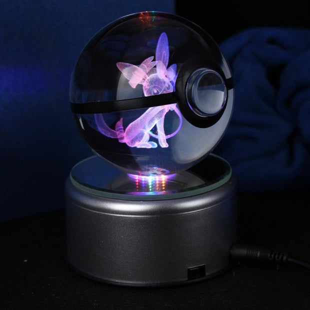 Sylveon Pokemon Crystal Pokeball