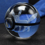 Umbreon Pokemon Crystal PokeballWithout Base (Crystal Ball Only)