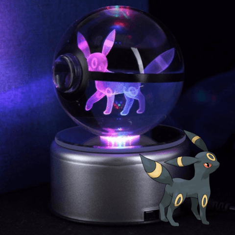 Umbreon Pokemon Crystal Pokeball