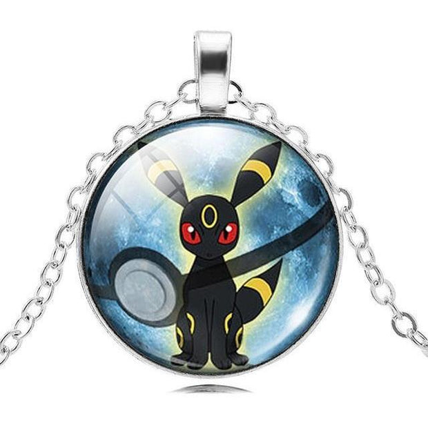 pokemon umbreon glass pendant