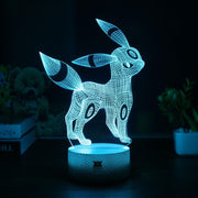 pokemon umbreon led 3d night light of blue color
