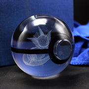 Vaporeon Pokemon Crystal Pokeball