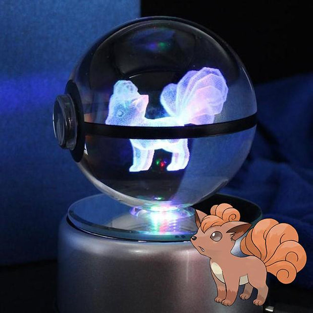 pokemon vulpix crystal pokeball