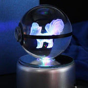 pokemon vulpix crystal led pokeball