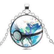 pokemon xerneas glass pendant