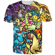 the pokemon reunion t-shirt top