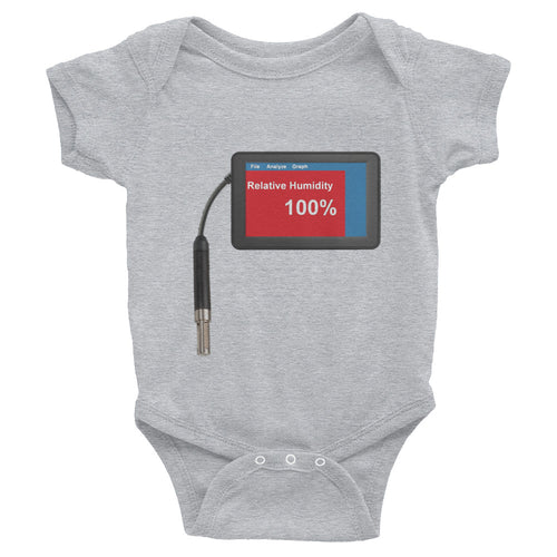 Relative Humidity 100% Infant Bodysuit