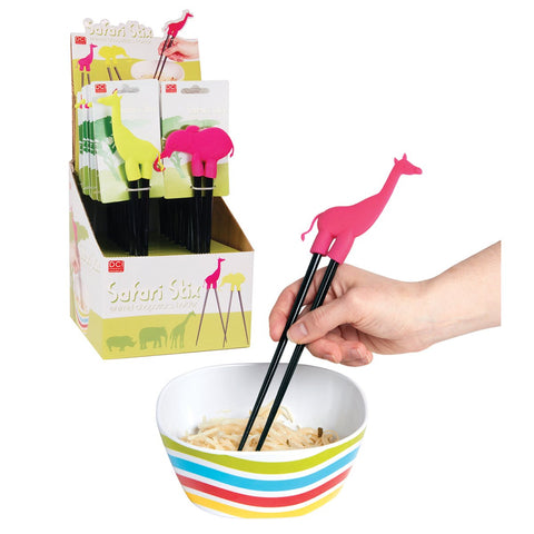 MOQ:32 Safari Stix Animal Chopsticks Holder