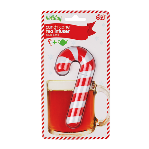 Tea Infuser - Candy Cane