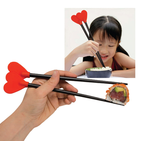 XOXO Stix Heart Chopsticks Holder