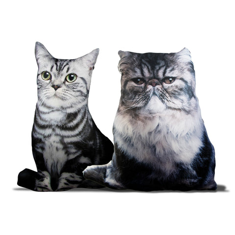 MOQ:4 Cat Lady's Pillows - Assorted
