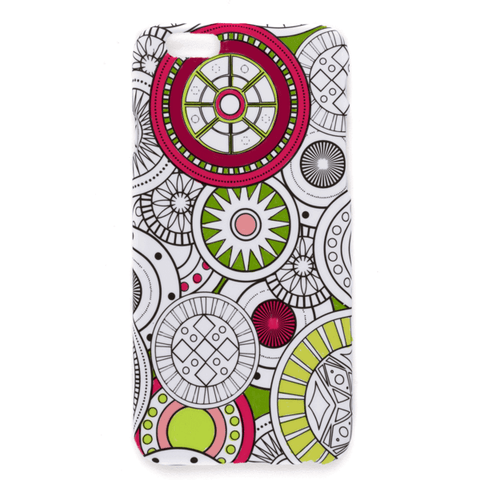 geo spheres coloring iphone case
