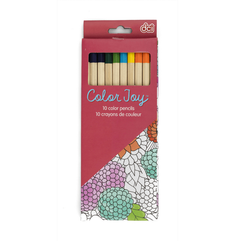 colored pencil in packaging