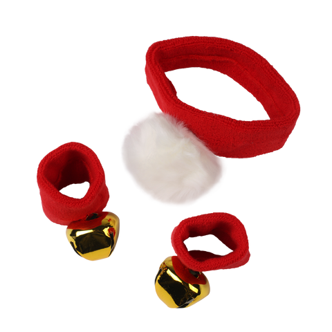 MOQ:12 Santa Sweatbands Set