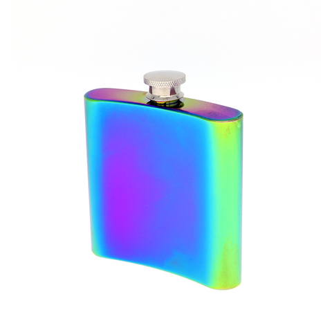 MOQ:12 RAINBOW LUSTER FLASK TOO MUCH