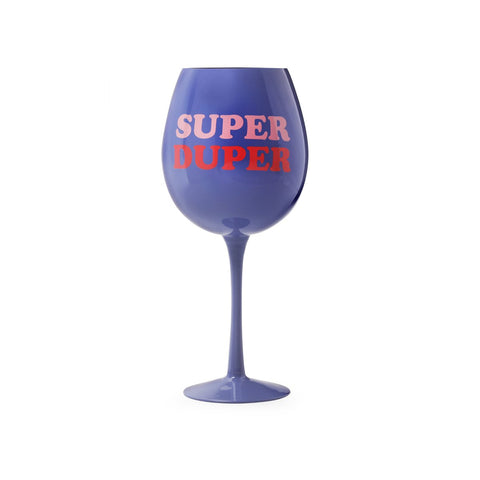 MOQ:6 XL Wine Glass: Super Duper