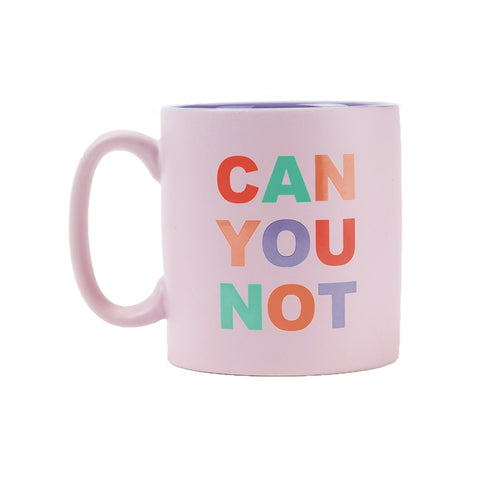 MOQ:6 Stoneware Mug: Can You Not