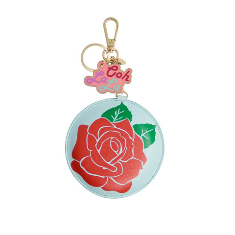 MOQ:12 Keychain Power Bank: Rose