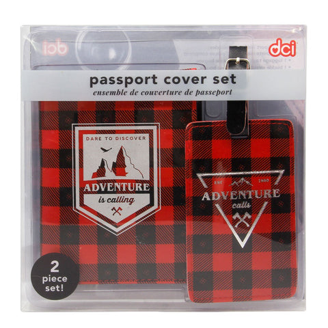 MOQ:6 Passport Set: Adventure Calls