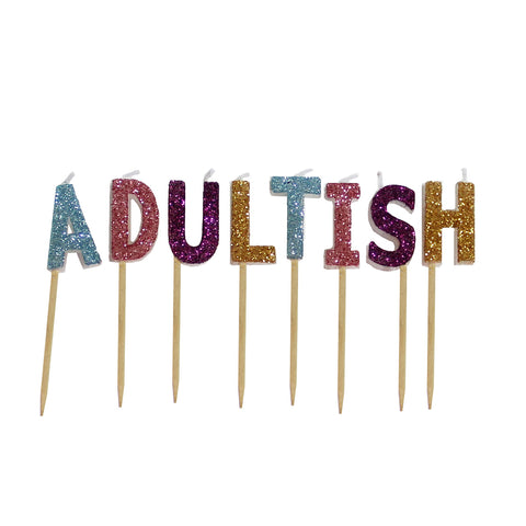 MOQ:6 Toothpick Candles: Adultish