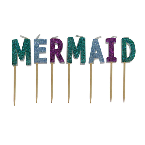 MOQ:6 Toothpick Candles: Mermaid