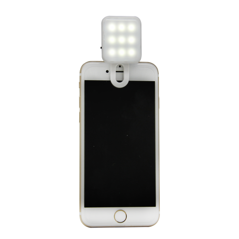 White Square Selfie Light