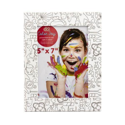 color joy coloring picture frame