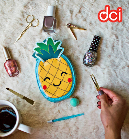 MOQ:12 Nail Manicure Kit: Pineapple
