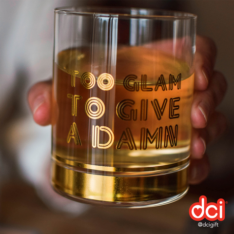 MOQ:6 Highball Glasses: Too Glam to Give a Damn