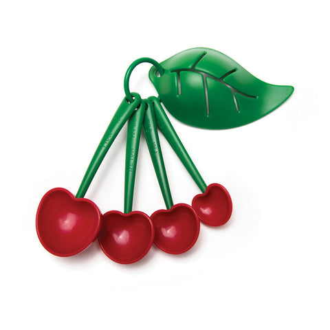 MOQ:6 Mon Cherry Measuring Spoons and Egg Separator