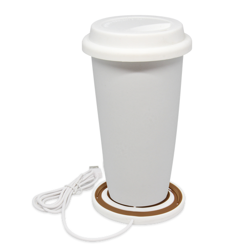 MOQ:6 USB Mug warmer: Latte