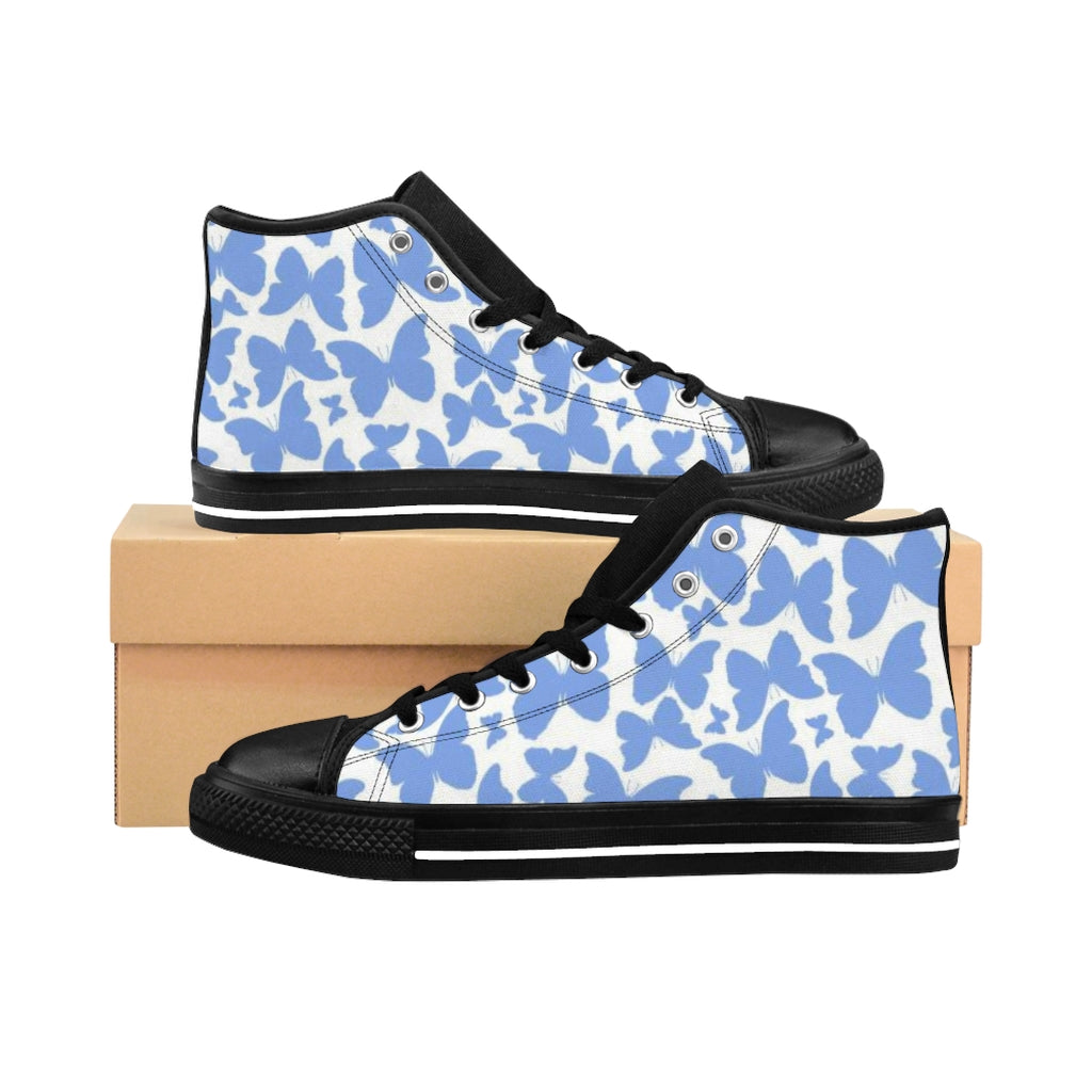 Butterfly High-top Sneakers
