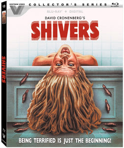 Shivers (Vestron Video Collector's Series) Blu Ray