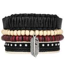 Assorted Multi Layered retro Bracelets ( 30 variants )