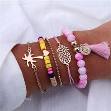 Bohemian Multi Layer Beaded Bracelet ( 30 variants )