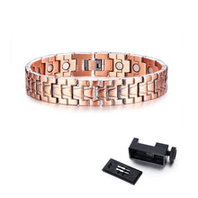 Pure Copper Magnetic Therapy  Bracelet ( 7 variables )