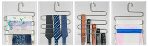 Multi-Functional S-type Trouser Rack