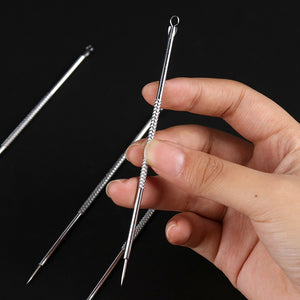 1PC Silver Blackhead Acne Extractor