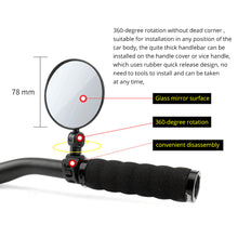 Bicycle Rearview Handlebar Mirror