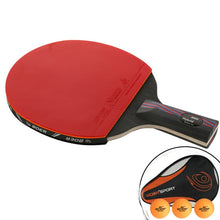 Professional 9.8 Carbon System Table Tennis Bat Blade Racket With Carry Bag
