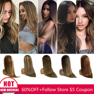 Straight Lace Human Hair Wig